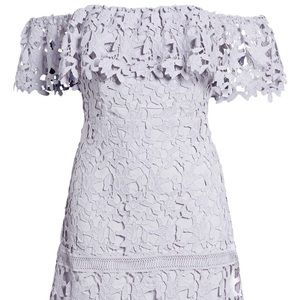 ASTR new with tags off the shoulder lilac dress!